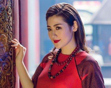 Á hậu Tú Anh khoe vẻ đẹp truyền thống với bộ ảnh áo dài