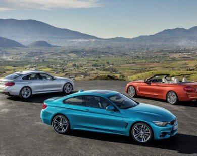 Đại gia đình BMW 4-Series 2018 được nâng cấp