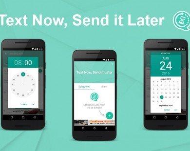 Hẹn giờ gửi tin nhắn chúc Tết bằng smartphone