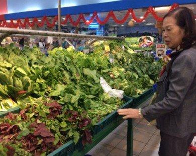 Sau Tết giá rau xanh tăng vì khan hàng