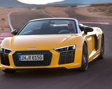 Siêu xe Audi R8 V10 Plus Spyder 2017 giá gần 4 tỷ đồng