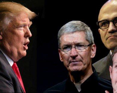 Google, Amazon, CEO Apple không ủng hộ lệnh cấm nhập cư