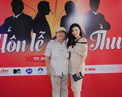 Cao Thái Hà rạng rỡ đi casting phim mới