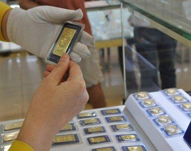 Giá vàng trong nước tăng mạnh cùng xu hướng thế giới