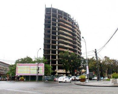Huế: Đồng ý chuyển cao ốc xây dở trên đất vàng thành bệnh viện