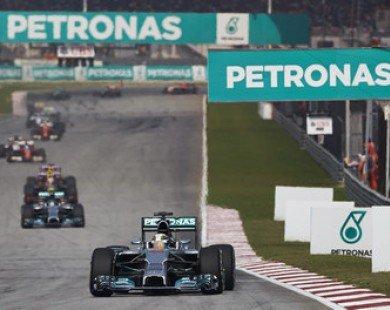 Malaysia ngưng tổ chức đua F1 ở Sepang