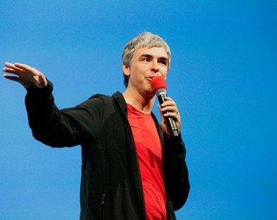 Larry Page là CEO quyền lực nhất thế giới 2016