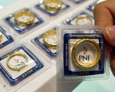 Giá vàng lấy lại mốc 37 triệu đồng/lượng