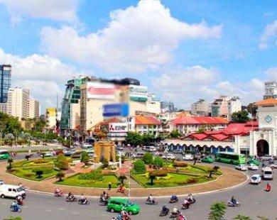 Tp.HCM: Phá bỏ vòng xoay trước chợ Bến Thành để xây ga ngầm metro