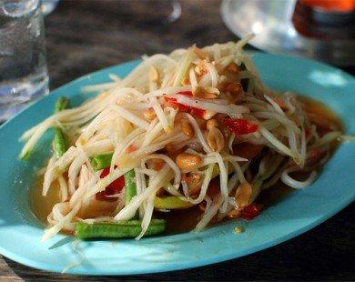 Som tam – món ngon đường phố Thái Lan chua chua cay cay