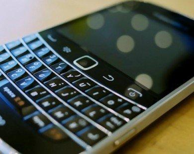 Thị phần smartphone BlackBerry toàn cầu về mốc… 0%