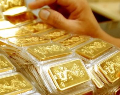 Đầu tuần, giá vàng giảm nhẹ