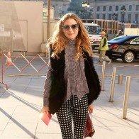 Phối quần âu sành điệu như Olivia Palermo