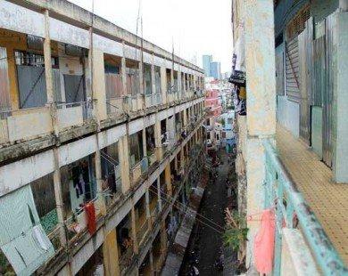 6 chung cư cũ tại Tp.HCM sẽ được xây dựng lại trong năm nay