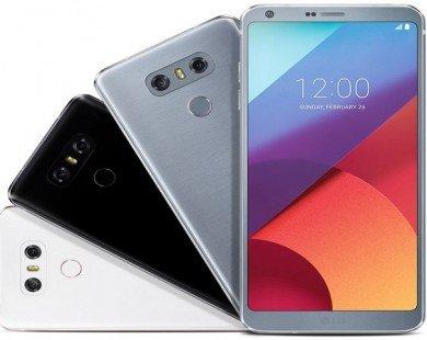 LG G6 lộ diện trong màu trắng, bạch kim và đen