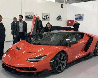 Lamborghini Centenario đầu tiên giá 61 tỷ đồng đã có chủ