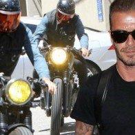 Xế độ Triumph Bonneville của David Beckham đẹp mê ly
