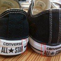 Mẹo phân biệt giày Converse thật và giày Converse giả đơn giản nhất