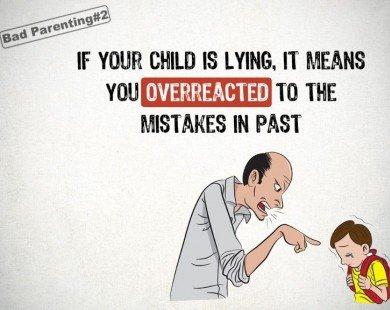 11 điều sai lầm bố mẹ thường làm khiến con trở thành một đứa trẻ hư