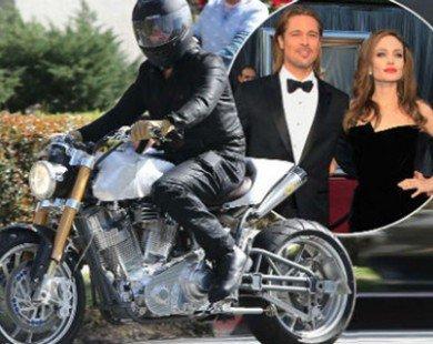 """Soi môtô giá 6,8 tỷ đồng của tài tử """"Ông bà Smith"""""""