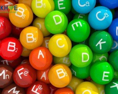 Các nguồn Vitamin tự nhiên lành tính cho người cao tuổi