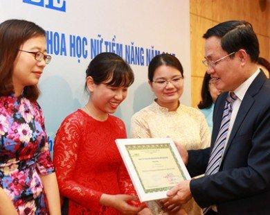 Ba nữ giảng viên được hỗ trợ 300 triệu đồng nghiên cứu khoa học