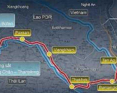 Khởi động dự án đường sắt Viêng Chăn - cảng Vũng Áng trong năm 2017