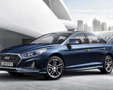 Hyundai Sonata 2018 có giá cao nhất 644 triệu đồng