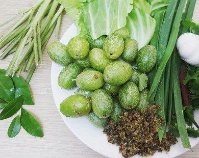 Lên Tây Bắc tháng 3 thưởng thức đặc sản bắp cải cuộn nhót xanh