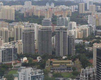 """BĐS Singapore lặng sóng dù chính sách """"hạ nhiệt"""" đã được nới lỏng"""