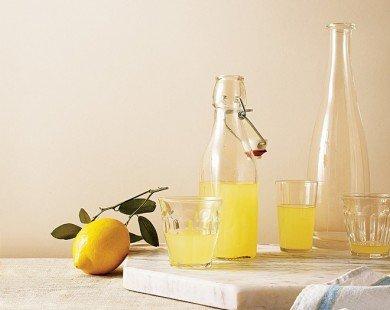 Tự ủ rượu hương chanh limoncello tại nhà