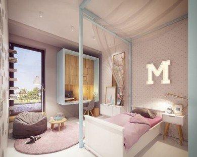 Mẫu căn hộ hiện đại dành cho hộ gia đình