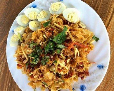 Cách làm bánh tráng trộn - món ăn hấp dẫn của người Sài Gòn