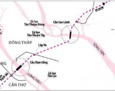 Điều chỉnh quy mô xây dựng tuyến đường Lộ Tẻ - Rạch Sỏi