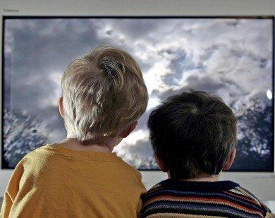 Xem tivi 3h/ngày, trẻ có nguy cơ bị tiểu đường