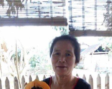 Bất ngờ với quả đu đủ 'mang thai' có một không hai ở Nghệ An
