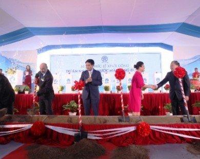 Hà Nội: Khởi công xây dựng nhà máy nước trị giá 5000 tỷ đồng
