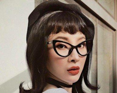 """Angela Phương Trinh lạ lẫm với phong cách """"cô giáo"""""""