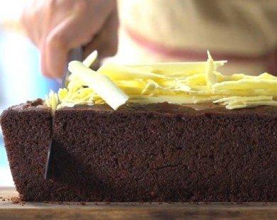 Cách làm bánh kem chocolate đơn giản tại nhà