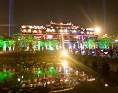 Đại nội Huế chính thức đón du khách tham quan vào ban đêm