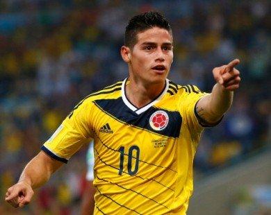 Kết quả vòng loại World Cup 2018 khu vực Nam Mỹ (24.3)