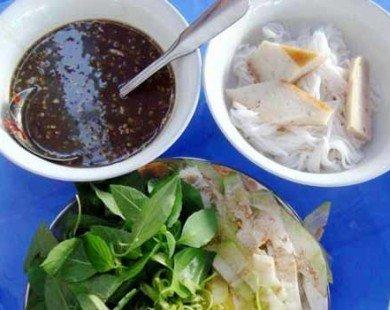 Bún mắm nêm đốn tim thực khách khi đến Ninh Thuận mùa nắng cháy