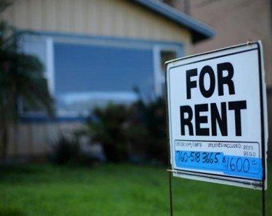 Mỹ: Tỷ lệ ở nhà thuê của người dân ngày càng tăng