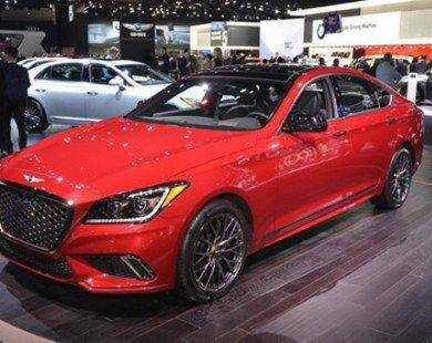 Genesis G80 Sport 2018 quyến rũ trong sắc đỏ
