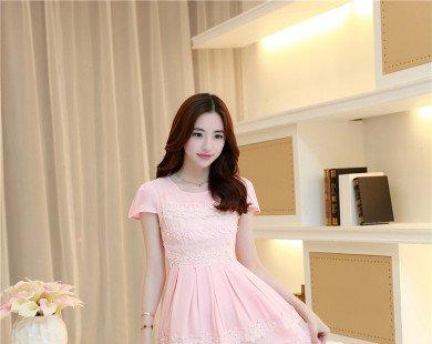 Những mẫu đầm hồng ngọt lịm cho cô nàng công sở