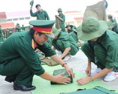 Kiểm tra thực hiện quy chế môn học Giáo dục quốc phòng và an ninh