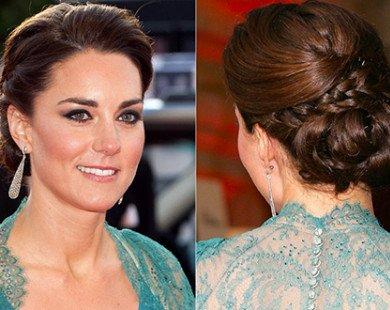 Nữ công tước Kate Middleton thanh lịch với từng kiểu tóc