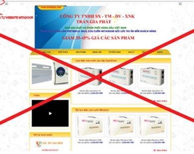 Web nhái bủa vây người mua hàng online