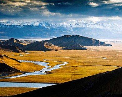 Cảnh đẹp như tranh vẽ của thảo nguyên Tân Cương