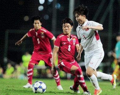 ĐT nữ Việt Nam đã cầm trong nửa vé dự World Cup 2019